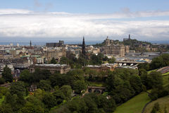Historic Edinburgh Royalty Free Stock Photo