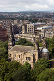 Historic Edinburgh. The historic city of Edinburgh in the Scottish Lowlands royalty free stock photos