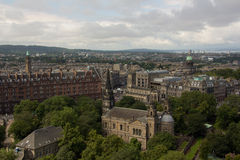 Historic Edinburgh Royalty Free Stock Images
