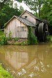 Historic Edwin B. Mabry Grist Mill Stock Photo