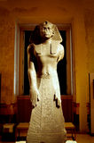 A historic Egypt sculpture of Sphinx Stock Photography