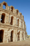 The historic El Jem Roman Coli Stock Photo