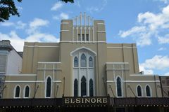 Historic Elsinore Theater in Salem, Oregon Stock Photos