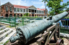 Historic emancipation square jamaica Royalty Free Stock Photo