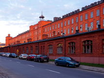 Scheibler factory in Lodz. Stock Photos