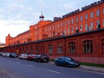 Scheibler factory in Lodz. Old factory of Karol Scheibler in Lodz Stock Photos