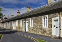 Historic English Almshouses Stock Photo