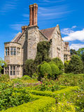 Historic English Country House. Benthall Hall, a  16th century country house with gardens. Broseley, Shropshire, England, UK Royalty Free Stock Photos