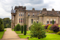 Historic English Stately Home. Formal gardens at the Lyme Hall in Chesire, England Royalty Free Stock Image