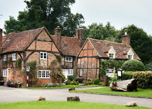 Historic English Village Stock Photo