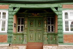 Historic entrance Royalty Free Stock Image