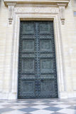 Historic entrance portal royalty free stock photography