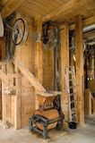 Historic  equipment mill Royalty Free Stock Photography