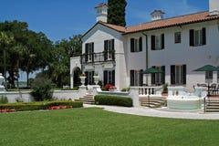 Historic Estate on Jekyll Island Stock Photo
