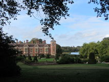 Historic estate in the English countryside, UK Royalty Free Stock Image