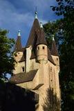 Historic FÜNFGRATTURM tower in Augsburg, Germany Stock Photography