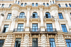Historic facade Royalty Free Stock Images