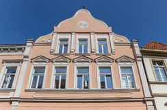 Historic facade in the center of Warendorf. Germany Royalty Free Stock Photos