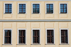 Historic facade in Dresden Royalty Free Stock Photography