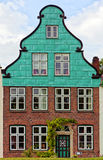 Historic facade at Glueckstadt Royalty Free Stock Photo