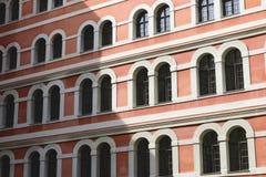 Historic facade Graz. Image of a red historic facade in town Graz, Austria Stock Photos