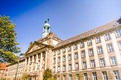 A historic facade of the high court Stock Photos