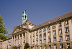 A historic facade of the high court Stock Photo