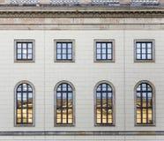 Historic  facade of Humboldt university in Berlin from 1810 Stock Image