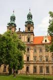 Historic facade of the lubensis abbey Royalty Free Stock Photos