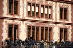 Historic facade  Royalty Free Stock Photo