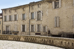 Historic facade, Soth France Royalty Free Stock Photography