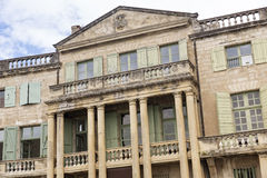 Historic facade, Soth France Royalty Free Stock Images