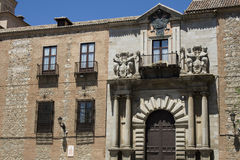 Historic facade in Toledo Royalty Free Stock Images
