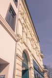 A historic facade of a wonderful building Stock Photo