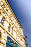 A historic facade of a wonderful building Stock Photography