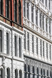 Historic facades Stock Images