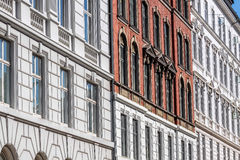 Historic facades Royalty Free Stock Image