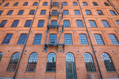 Historic factory building Royalty Free Stock Photo