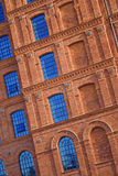 Historic factory building style. Royalty Free Stock Photo