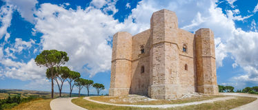 Historic and famous Castel del Monte in Apulia, southeast Italy Stock Photo