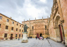 Historic and famous University of Salamanca, Castilla y Leon, Spain Stock Photos