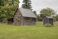 Historic farm buildings Stock Image