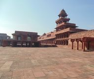 Historic Fatehpur Sikri buildings in Agra, India stock photo