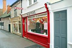 Historic Faversham High Street Stock Images
