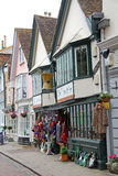 Historic faversham high street Stock Photo