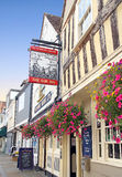 Historic faversham sun inn Royalty Free Stock Images