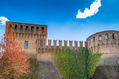 Historic feeling comes out of this military fortification of 140 Stock Images