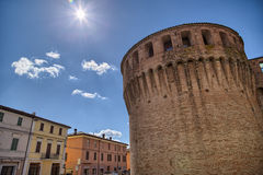 Historic feeling comes out of this military fortification of 140 Royalty Free Stock Images