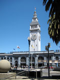 Historic Ferry Building in San Francisco Royalty Free Stock Images