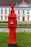 Historic firepost in Berlin stock images